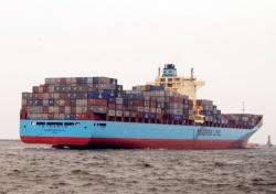 Największy kontenerowiec w Porcie Gdynia
