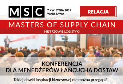 Relacja z konferencji Masters of Supply Chain