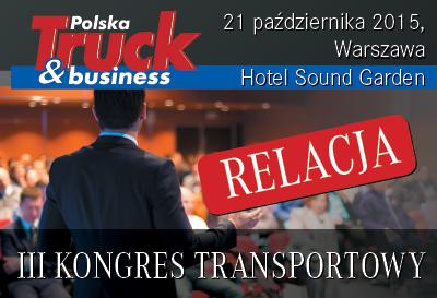Relacja z III Kongresu Transportowego