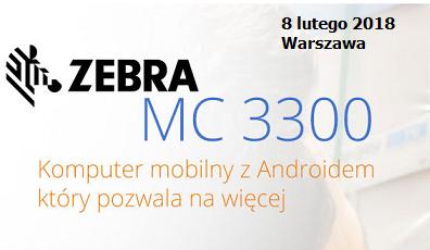 Polska premiera komputera mobilnego ZEBRA MC3300 z Androidem