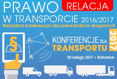Relacja z konferencji Prawo w Transporcie 2016/2017