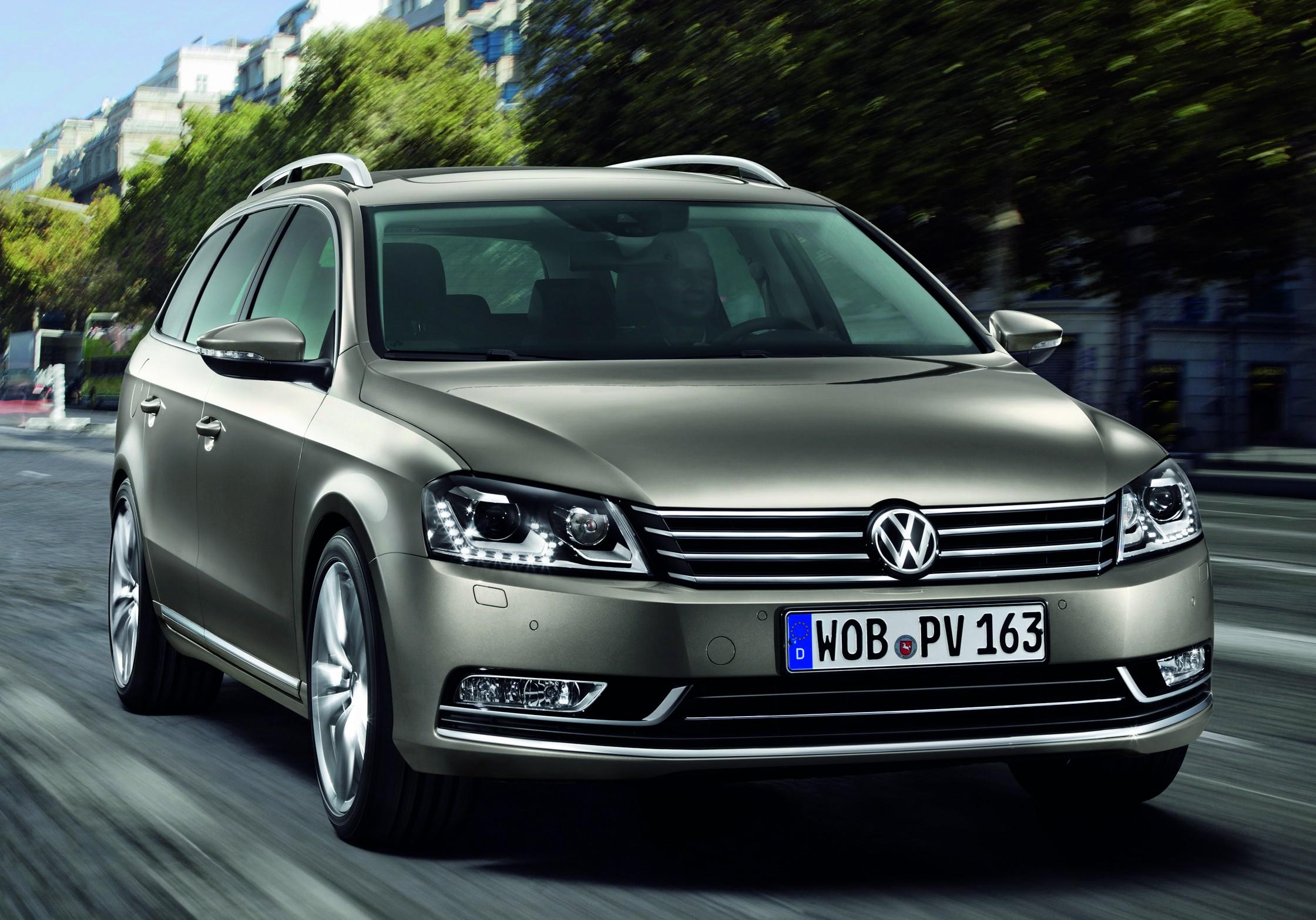 Volkswagen Passat – Ekonomista dla menedżerów