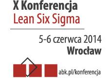 X Konferencja Six Sigma 2014