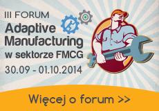 Adaptive Manufacturing