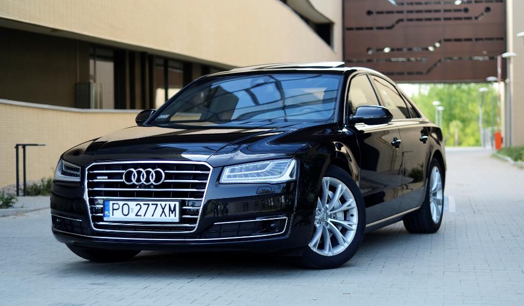 Audi A8. Jaka jest cena luksusu?