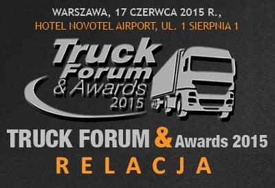 RELACJA TRUCK FORUM&AWARDS 2015