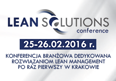 Lean Solutions Conference   do 27.02.16 r.