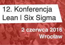 Lean Six Sigma (do 3 czerwca 2016)