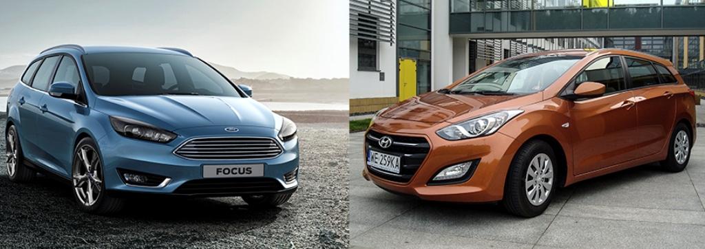 Hyundai i30 vs Ford Focus – kombi bój na argumenty