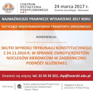 Skutki wyroku Trybunału Konstytucyjnego (do 24.03.17)