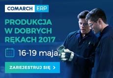 COMARCH  konferencja produkcyjna do 19 maja 2017