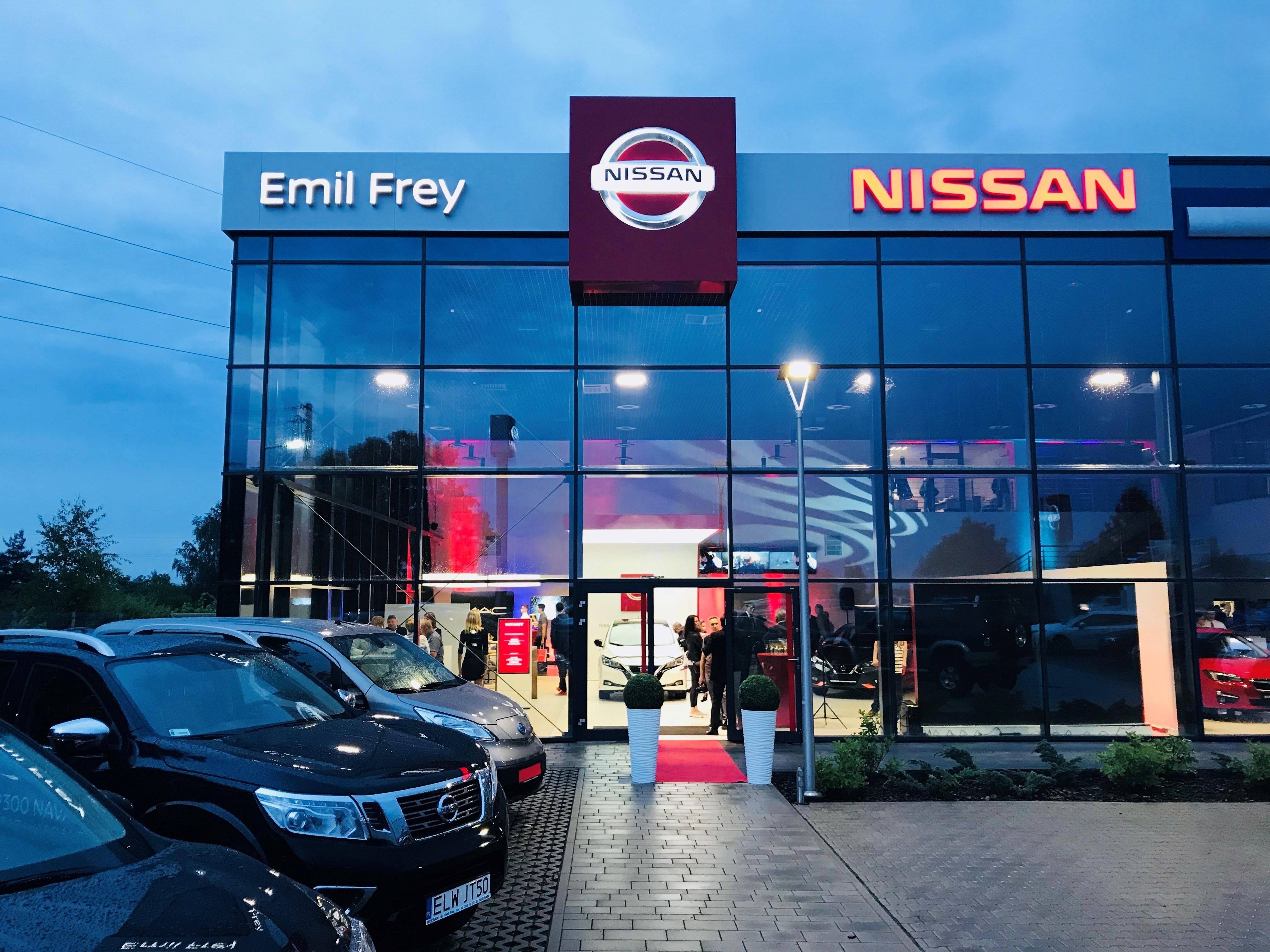 Nowy salon Nissana