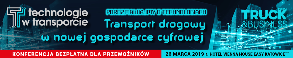 Technologie w transporcie 2019