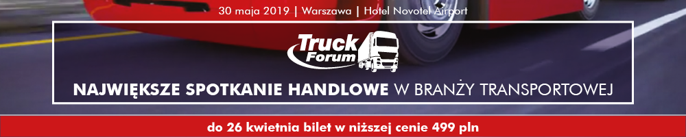 Truck Forum 2019 -niższa cena