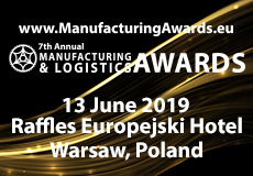 CEE Manufacturing & Logistics Awards 2019 (do 13 czerwca)