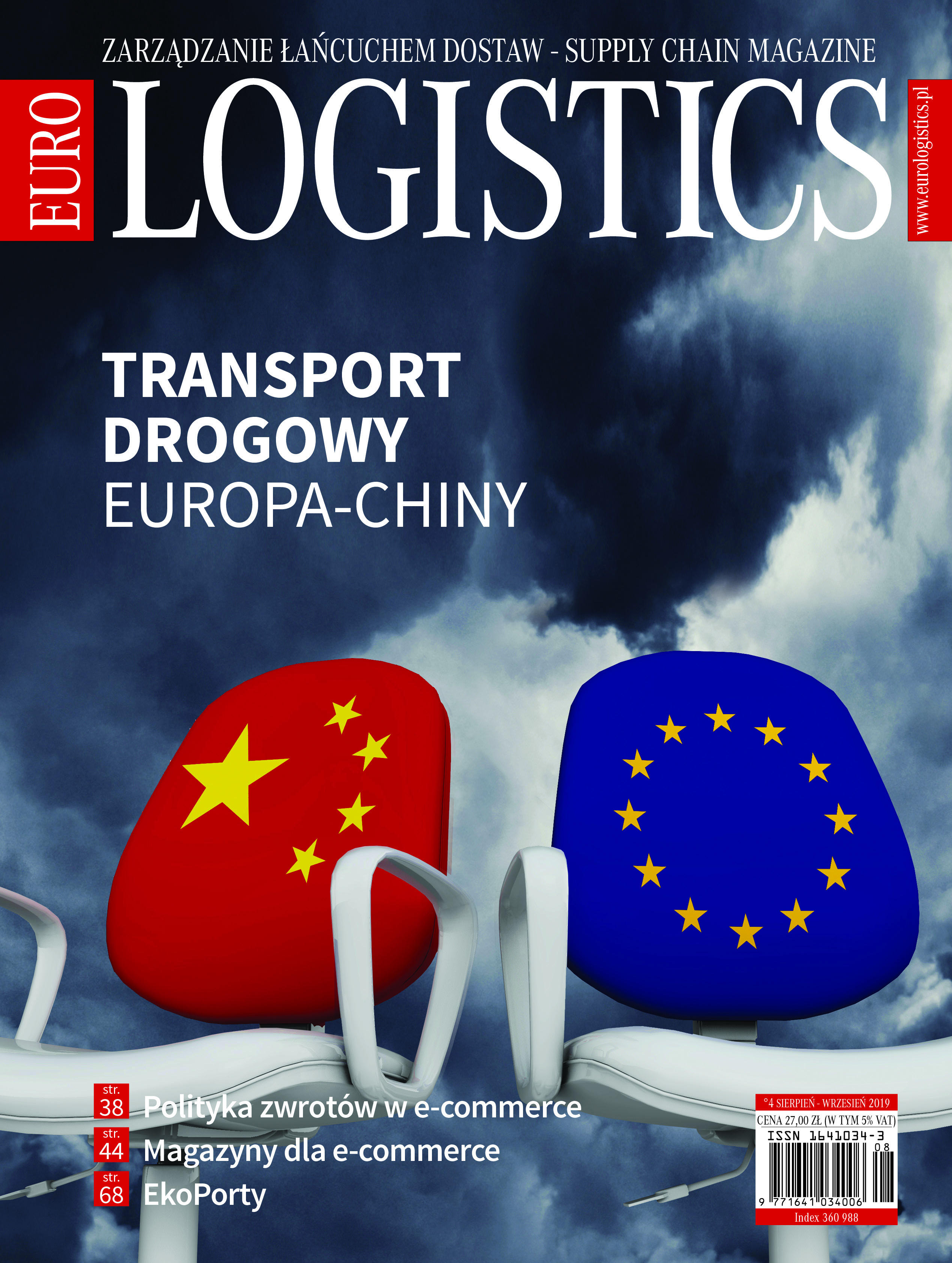 Transport drogowy Europa-Chiny