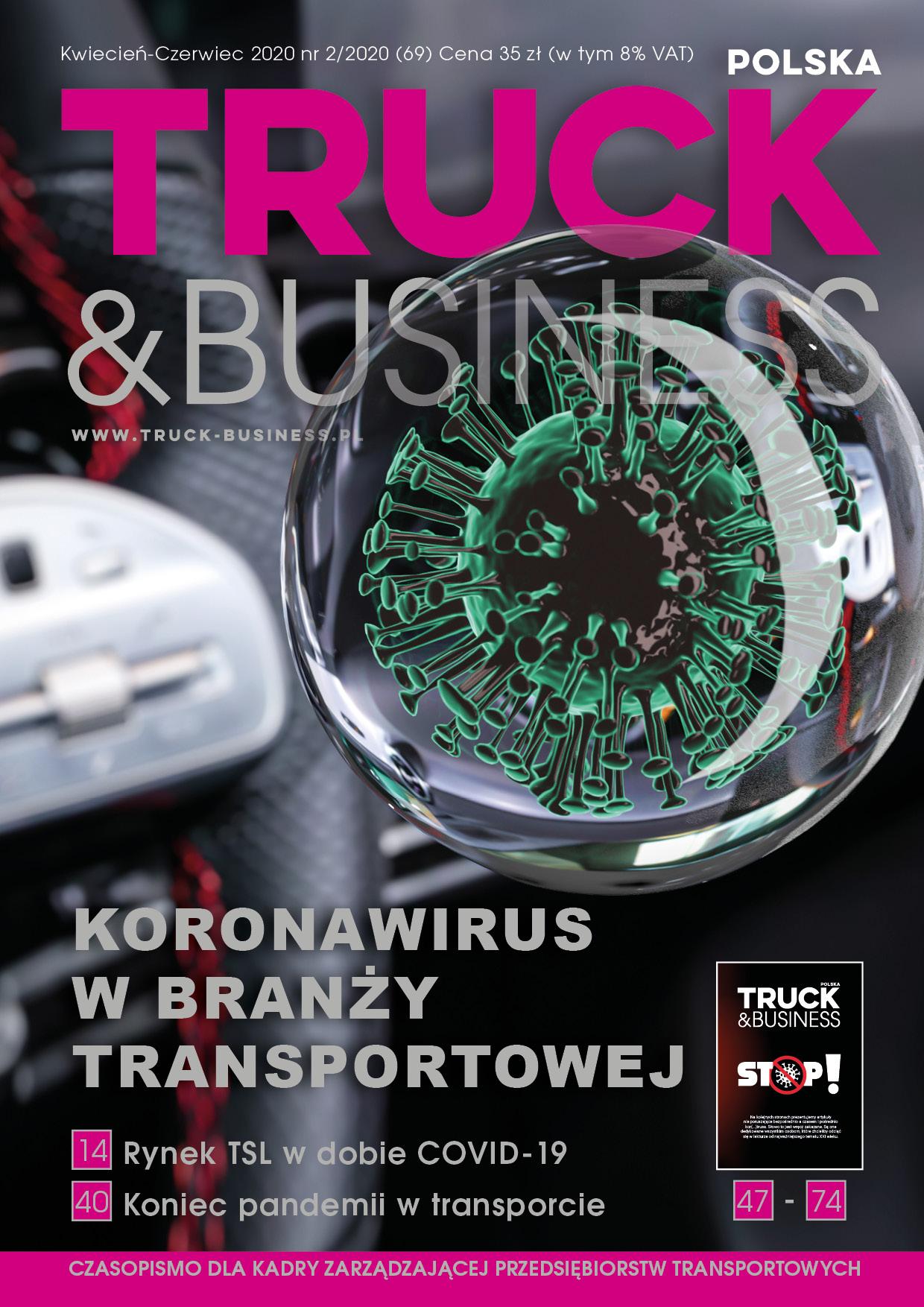 Koronawirus w branży transportowej