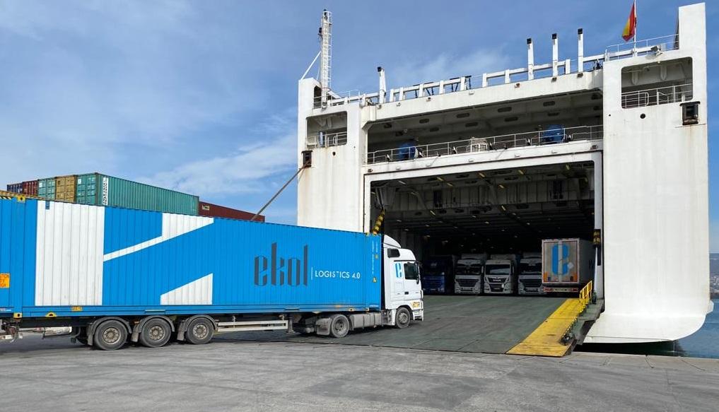 Ekol Logistics: nowe połączenie ro-ro między Hiszpanią a Turcją