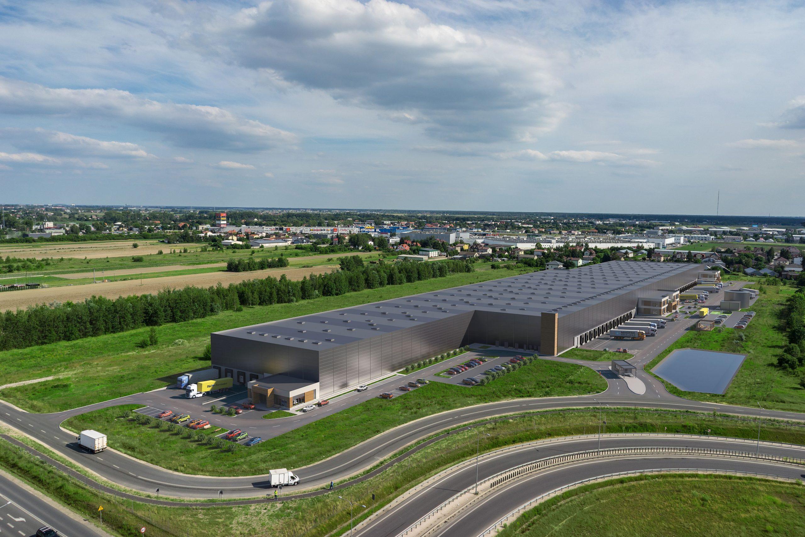 GLP Warsaw II Logistics Centre gotowe