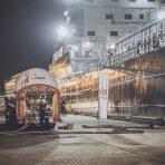 Pierwsze bunkrowanie LNG w polskich portach morskich