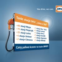 Tanie stacje w polskiej sieci DKV