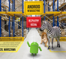 Android w magazynie