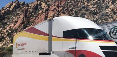 Futurystyczna ciężarówka umożliwia zwiększenie efektywności przewozu o 248%
