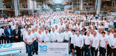 Jubileusz zakładu Volkswagena w Polkowicach