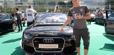 Lewandowski w Audi