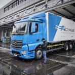 Dachser przetestuje elektryczną ciężarówkę eActros