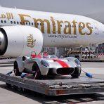 Jannarelly Design-1 na pokładzie Emirates SkyCargo