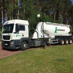 Lafarge wprowadza innowacje w transporcie cementu