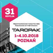 Międzynarodowe Targi Techniki Pakowania  i Etykietowania TAROPAK 2018