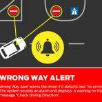 Uwaga na jazdę pod prąd
