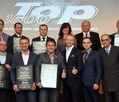 Wyniki rankingu TOP 1500 najefektywniej zarządzanych firm transportowych z 2015 roku