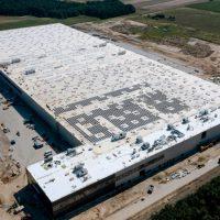 4 tysiące paneli PV na dachu Centrum Dystrybucyjnego LPP