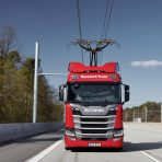 Ciężarówki Scania w badaniu dotyczącym e-dróg